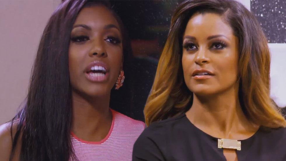 Porsha Williams Claudia Jordan Fight