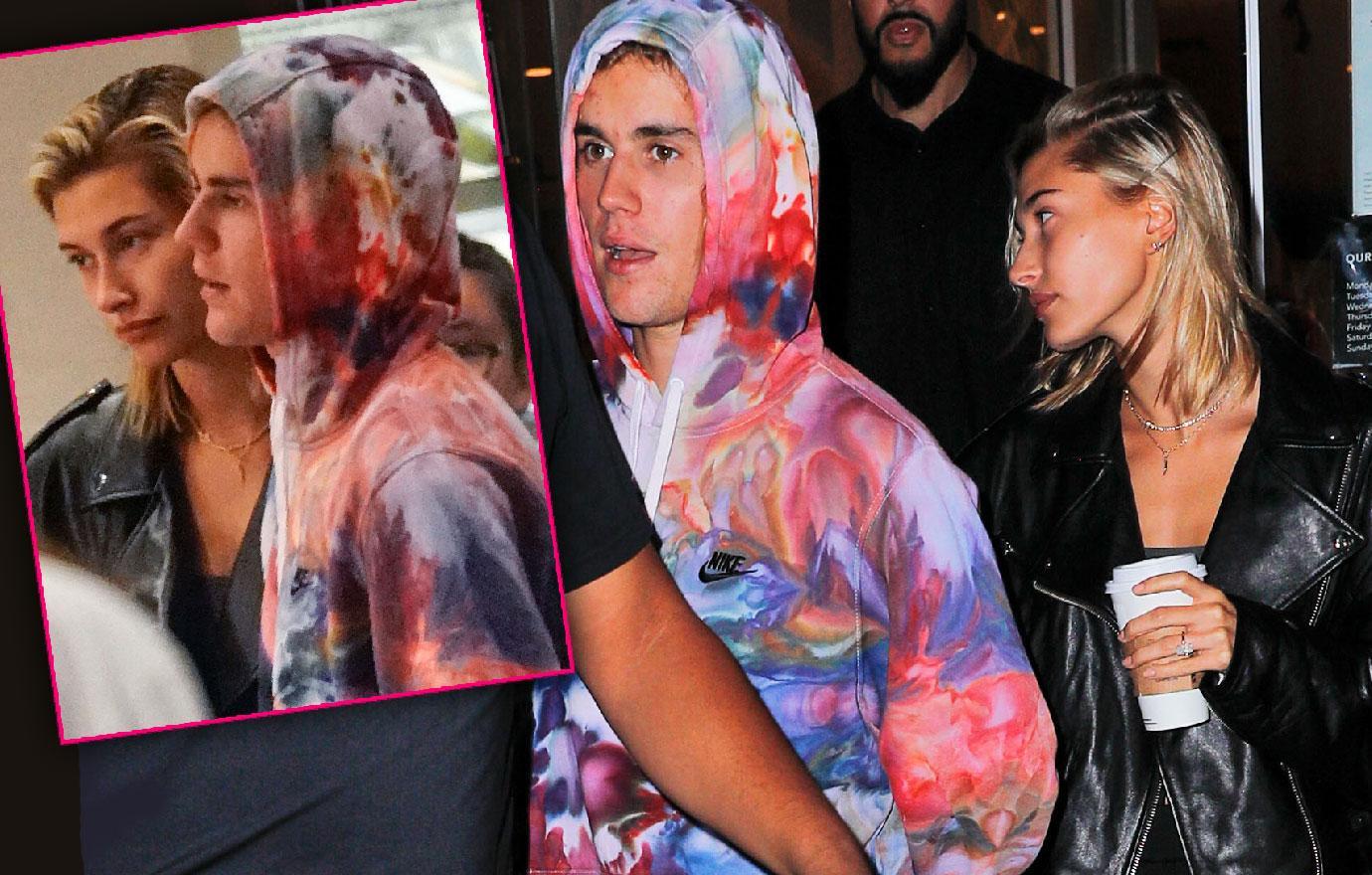 Justin Bieber Hailey Baldwin Coffee After No Prenup Revelation