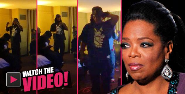 Talk Show Queen Oprah Winfrey Slammed Vile Comment Rapper Waka Flocka Flame