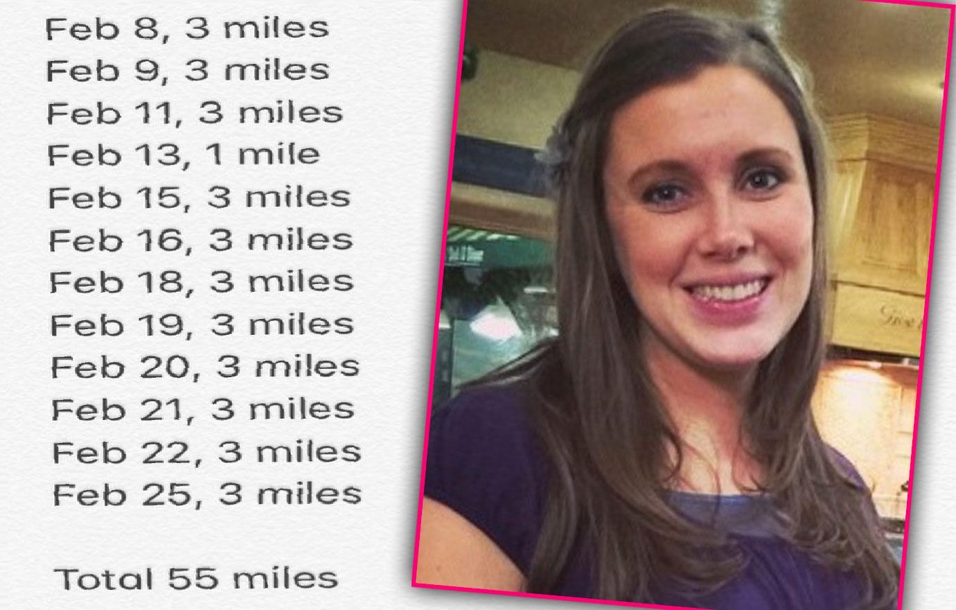 Anna Duggar Reveals Her Walking Shape Up Results