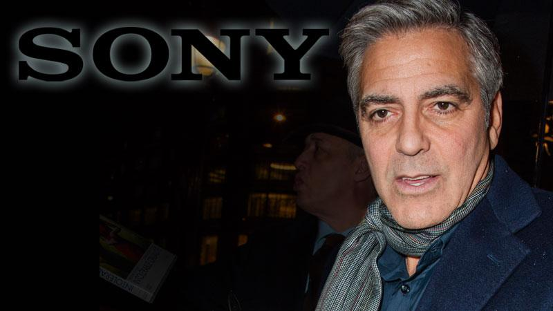George Clooney Sony Hacking Scandal