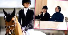 Mary-Kate Olsen And Husband Attend Horseback Riding Event