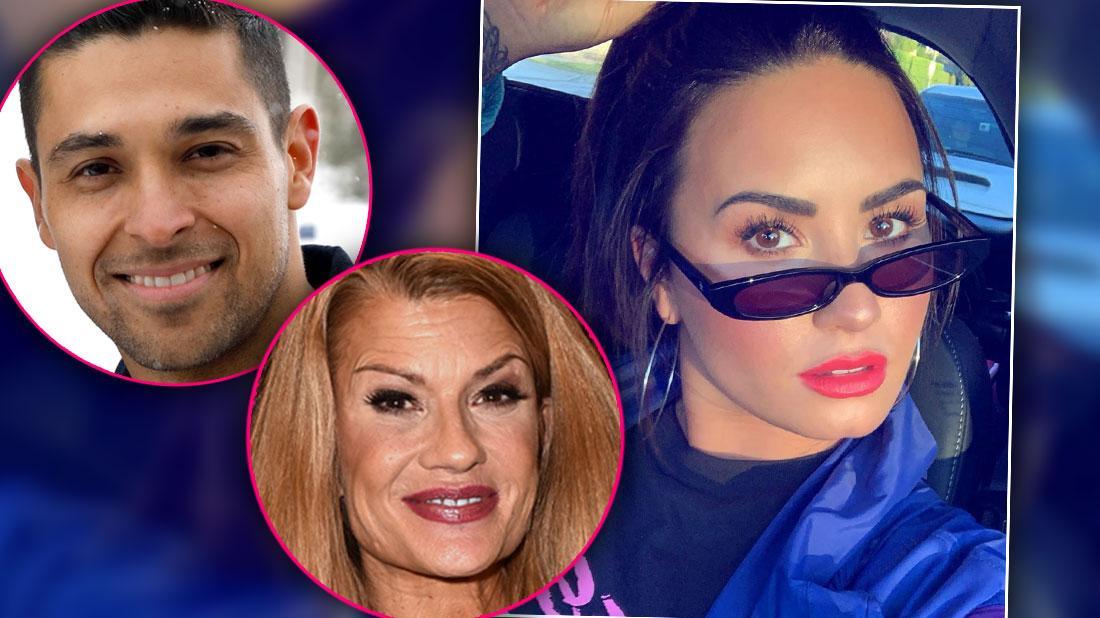 Demi Lovato Sober Help Wilmer Valderrama Mother Dianna