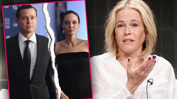 Angelina Jolie Divorce Brad Pitt Chelsea Handler Lunatic