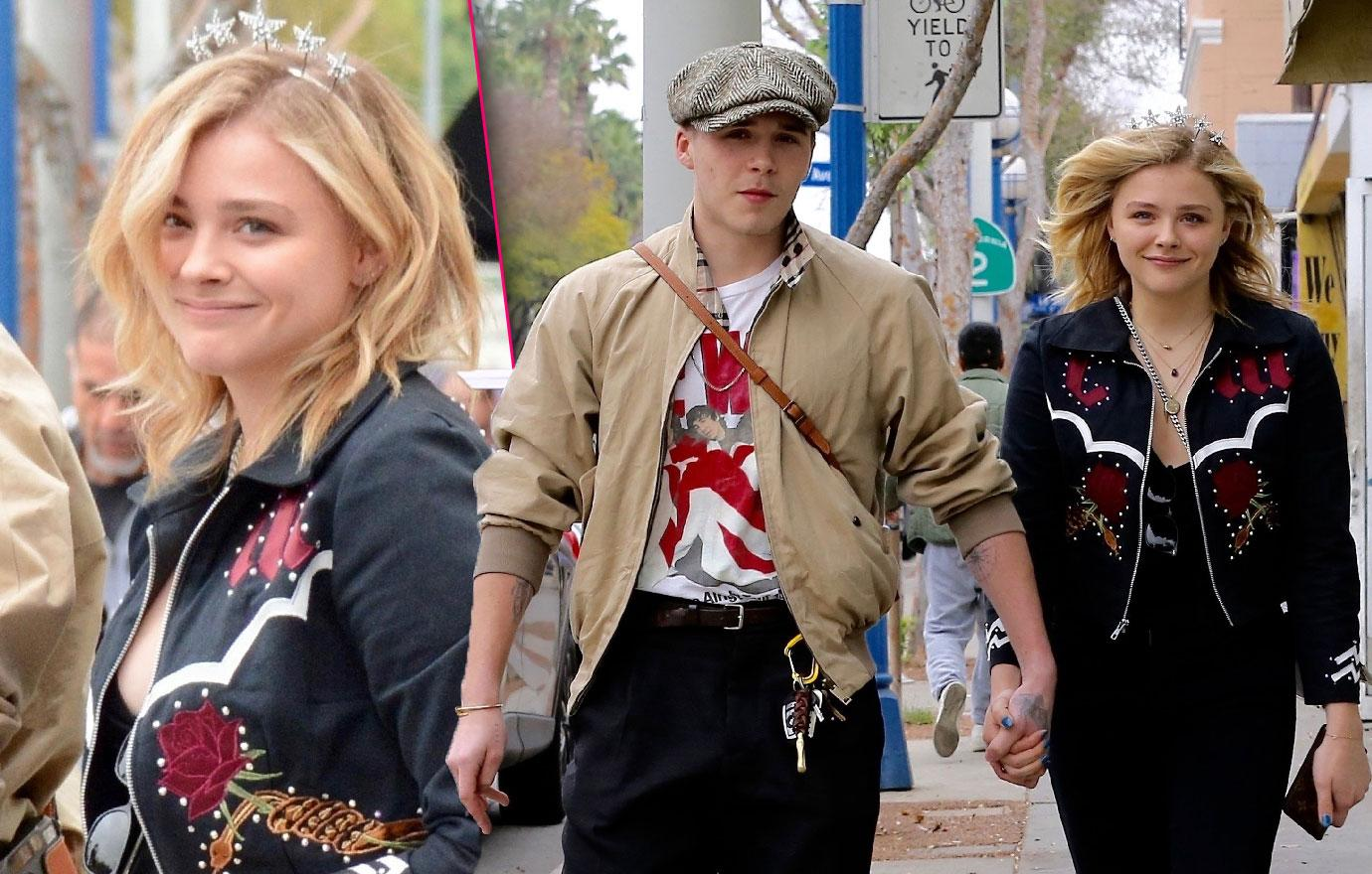 Chloe Grace Moretz And Beau Brooklyn Beckham Celebrate Her 21st Birthday