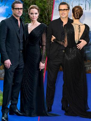//brad pitt angelina jolie maleficent costume and props private reception