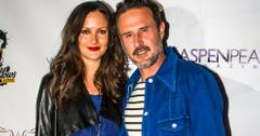 Christina McLarty & David Arquette Married