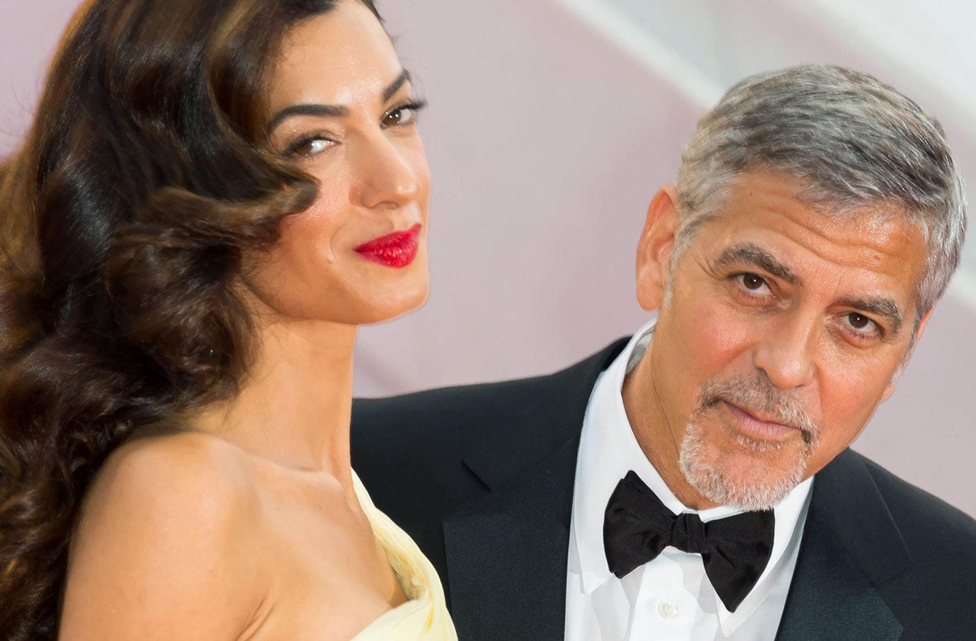 George Clooney Banned From Travel As Twins' Due Date Nears