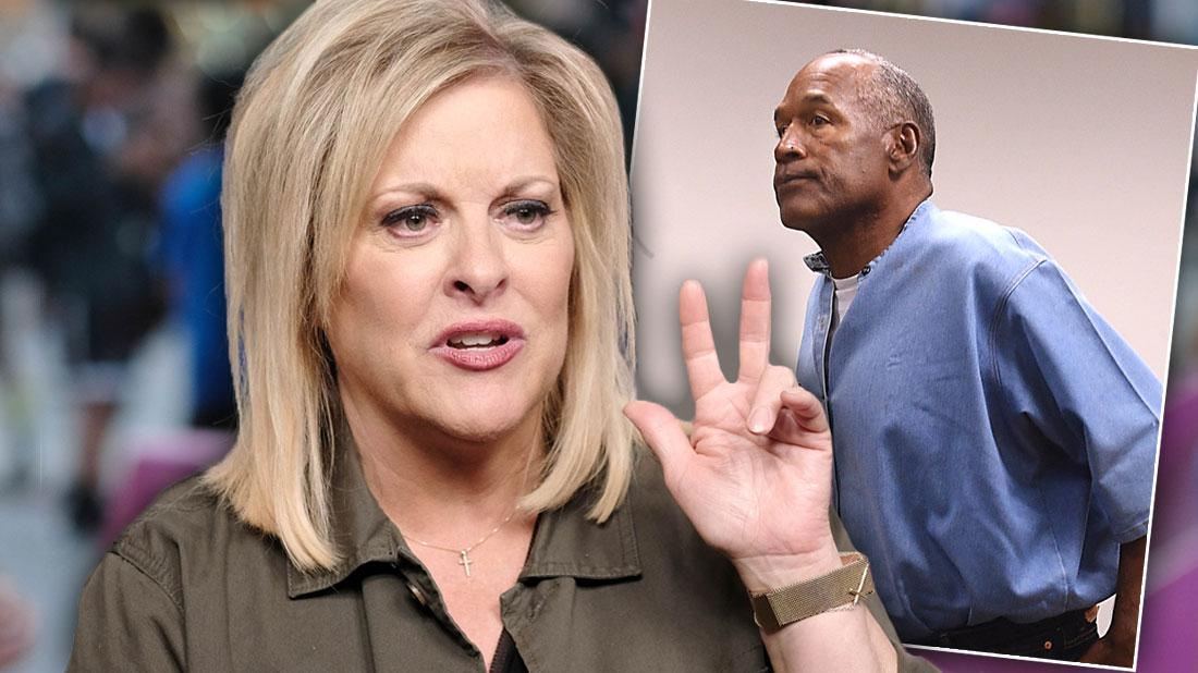 Nancy Grace Slams 'Killer' O.J. Simpson's Twitter Threats: 'That's His Nature'
