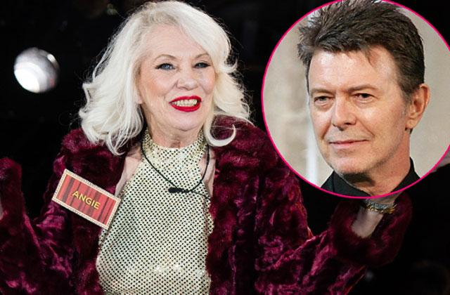 Angie Bowie David Bowie Death Leaves Celebrity Big Brother