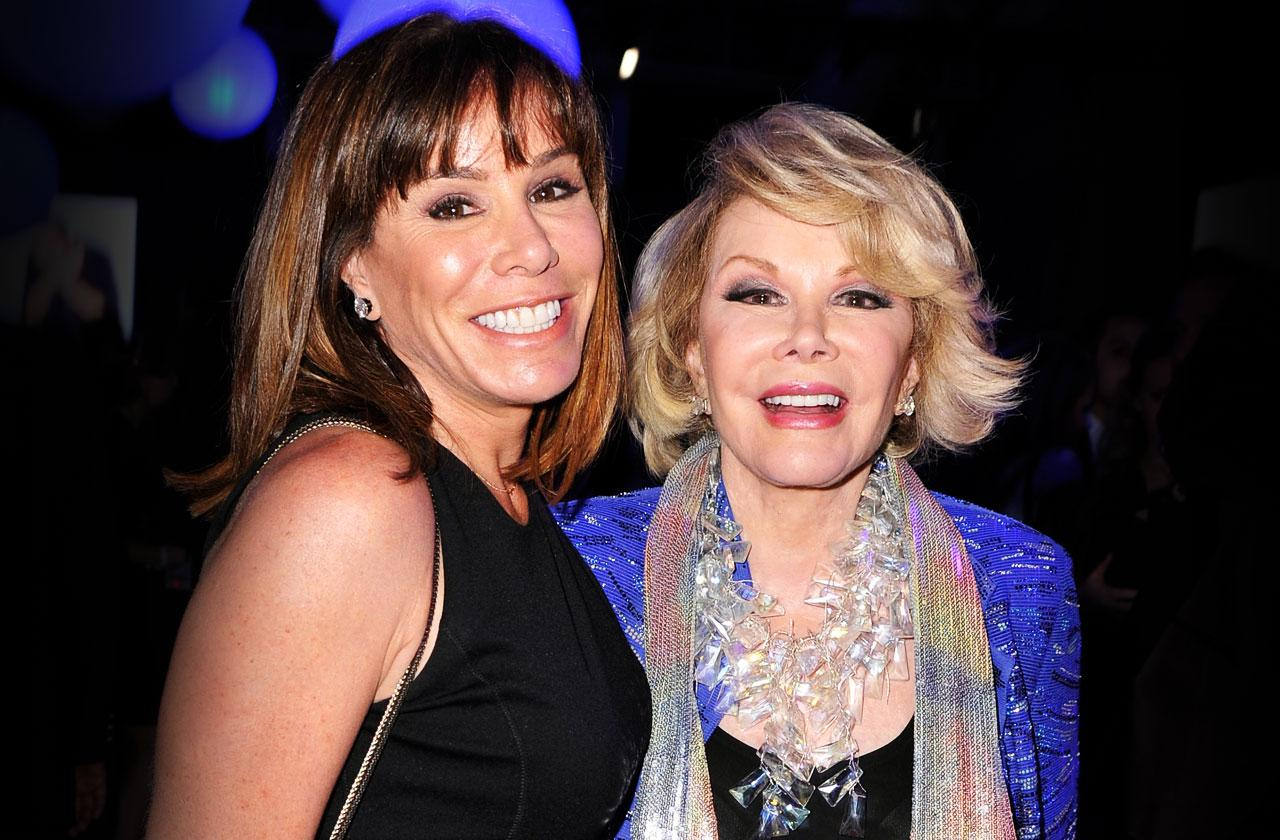 //melissa rivers surprise party joan rivers death pp