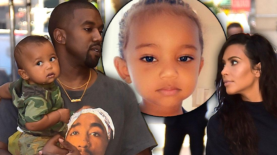 Saint West Was Rushed To The Hospital For An Allergic Reaction
