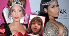 Nicki Minaj Farrah Abraham Twitter Feud Daughter Sophia Video Total Loser