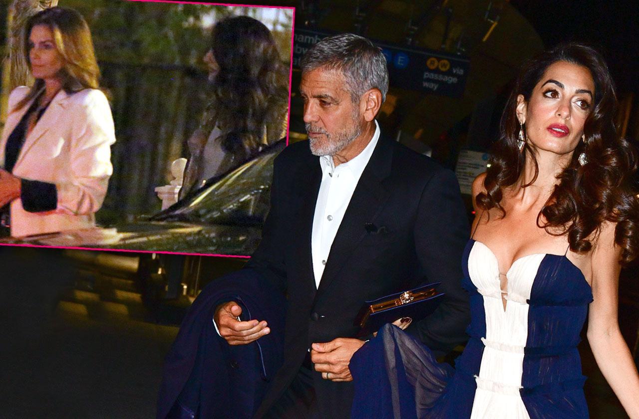 Amal Clooney Cindy Crawford Marriage Troubles George