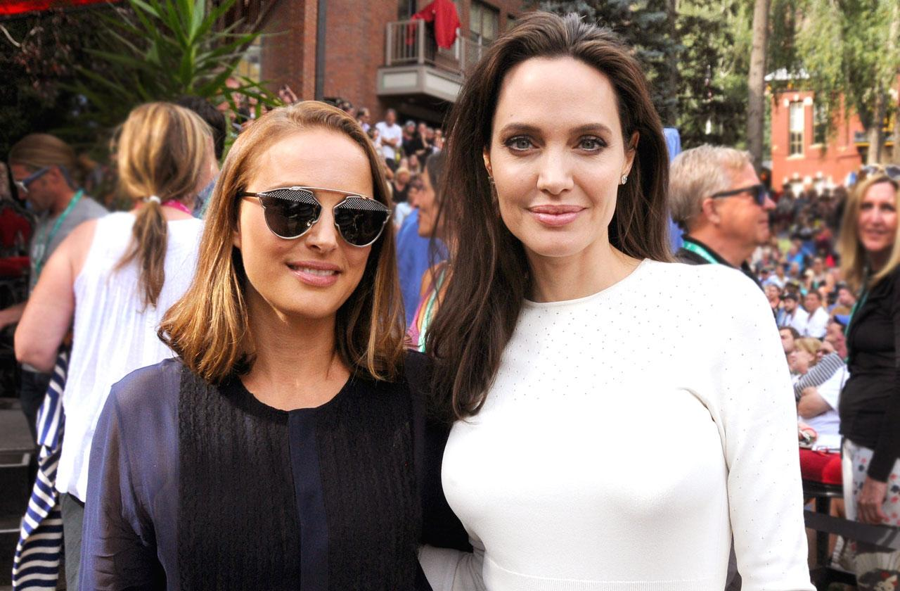 Angelina Jolie And Natalie Portman Become Best Friends Over Hollywood Lifestyle