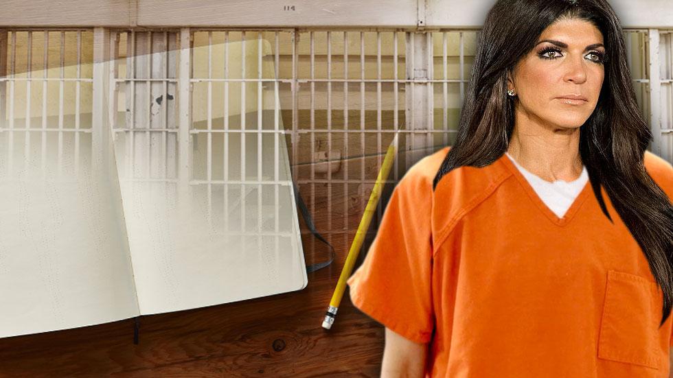 Teresa Giudice Writing Book Behind Bars
