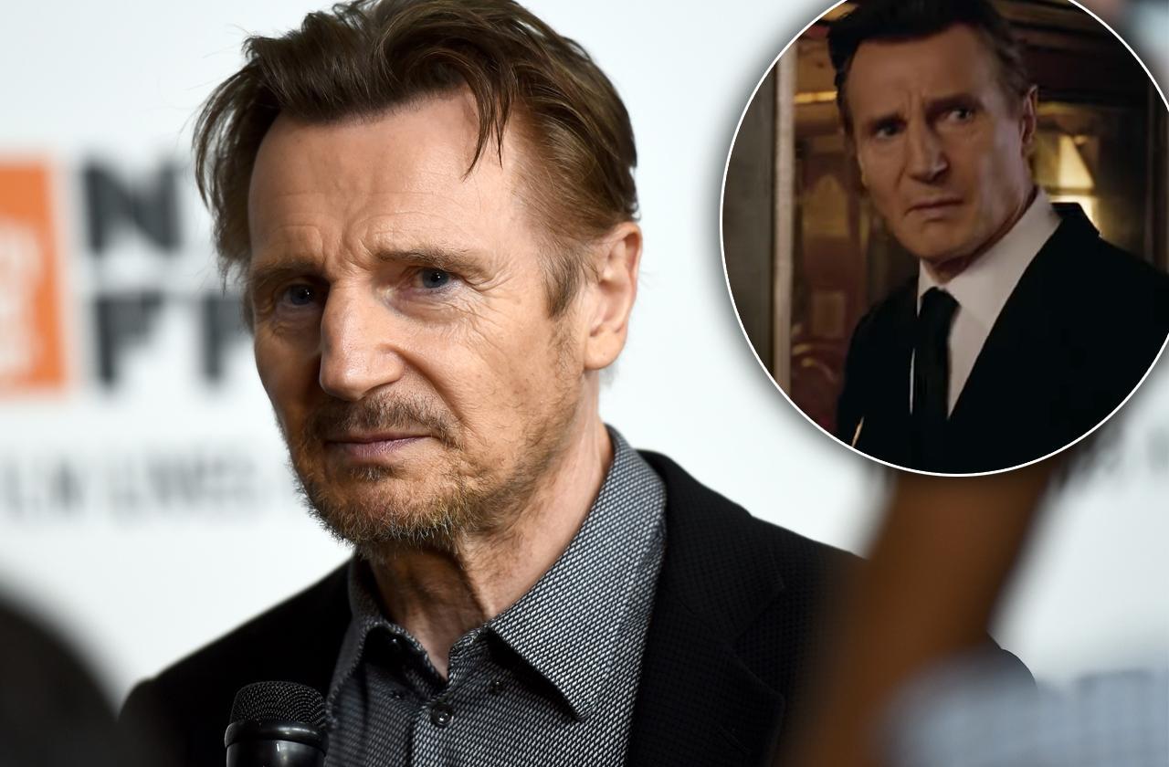 Liam Neeson Cut Men In Black