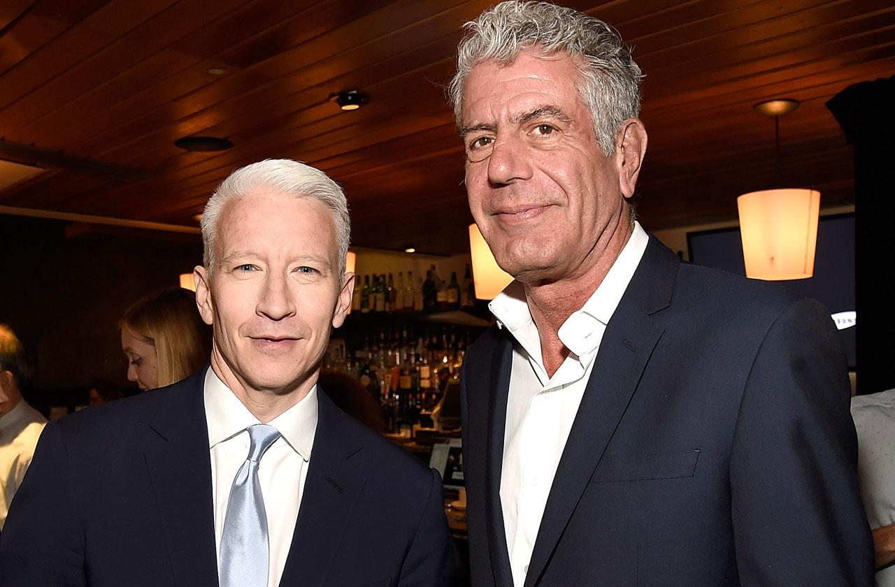 //anderson cooper dedicates show to anthony bourdain PP