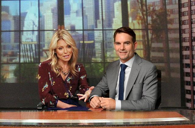 Jeff Gordon To Host 'Live' With Kelly Ripa