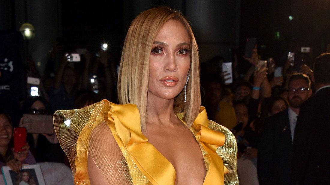 Jennifer Lopez in Yellow Gown