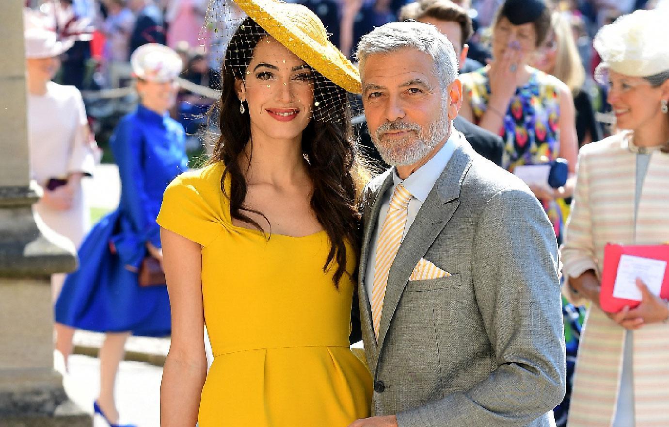 royal wedding celebrity arrivals photos