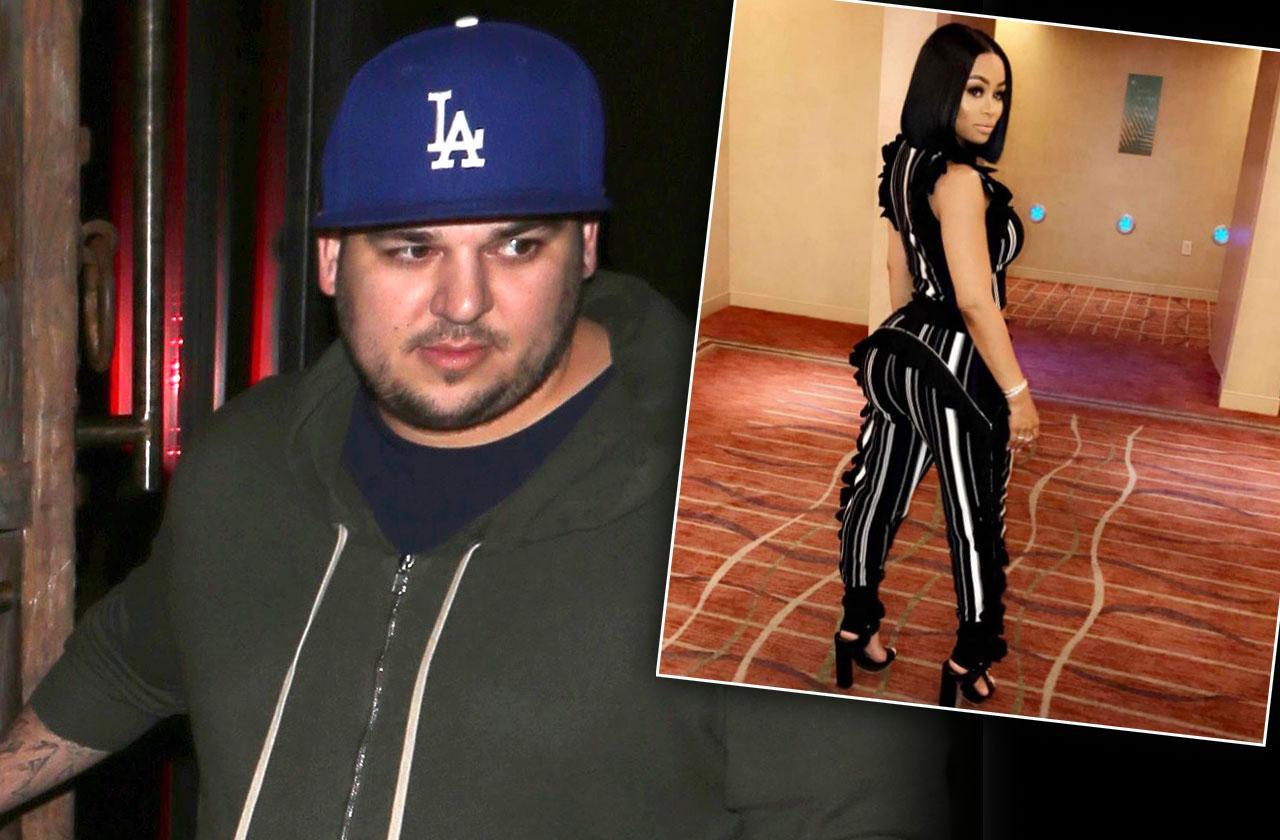 Rob Kardashian Blac Chyna Split Rock Bottom