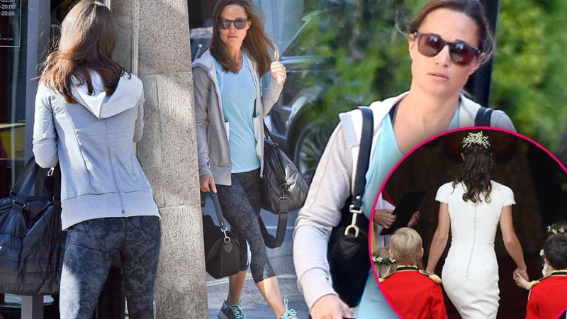 Pippa Middleton Butt Yoga Pants Kate Birth