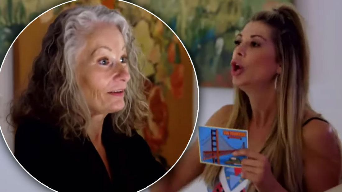 'RHOC' Alexis Bellino Screams At Mother On 'Marriage Boot Camp'