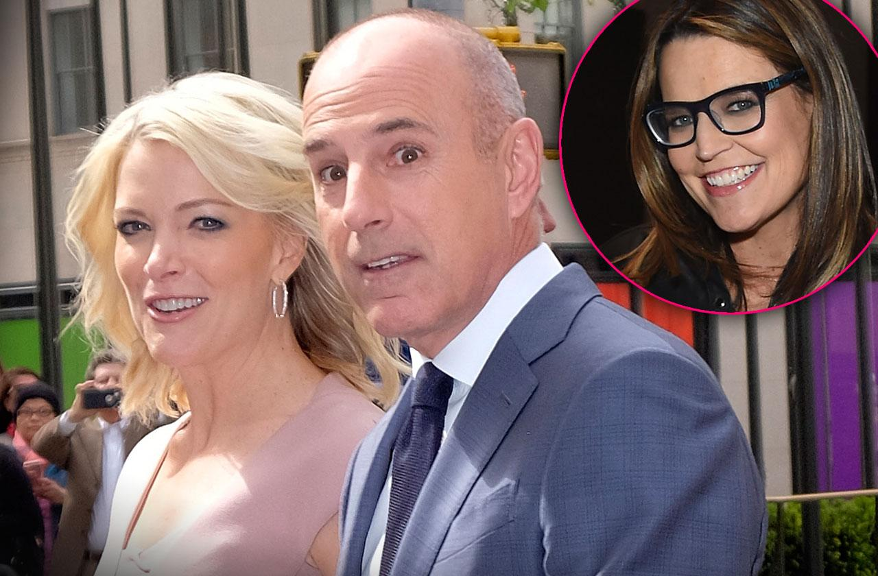Matt Lauer and Megyn Kelly Dine Together…Savannah Guthrie Not Invited!