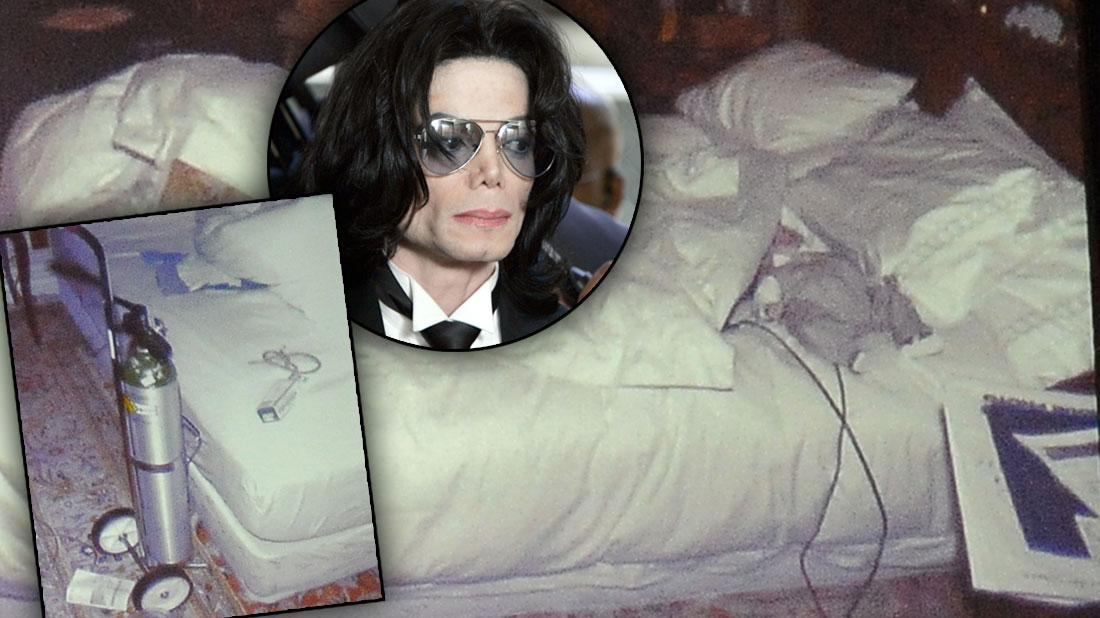 Michael Jackson Death Scene Photos Exposed