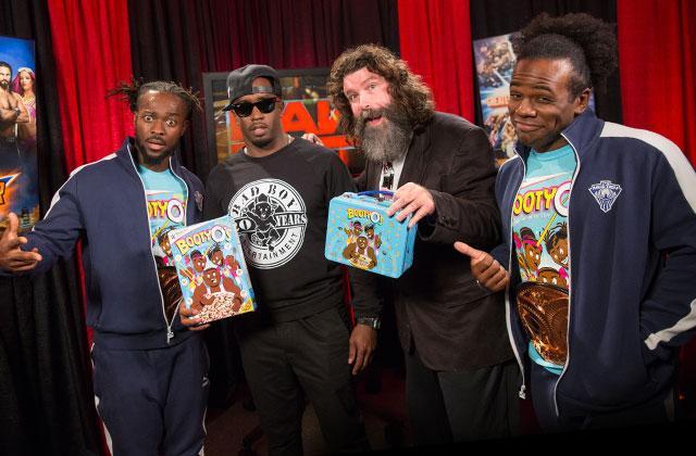 WWE Monday Night Raw Sean Combs Puff Daddy