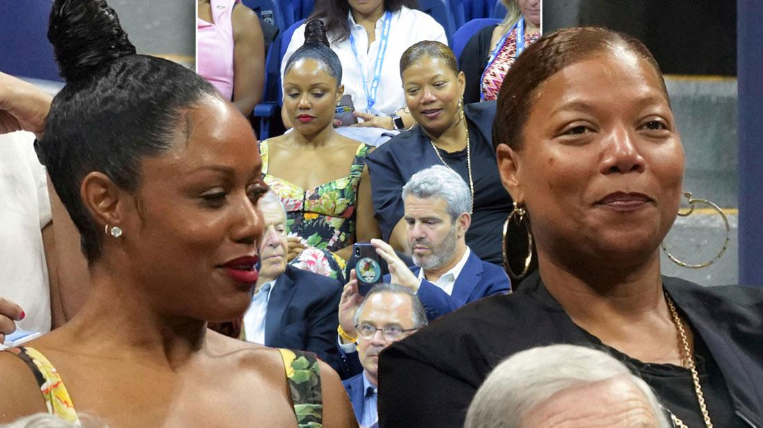 Queen Latifah & Eboni Attends US Open Again Adding to String Of Dates