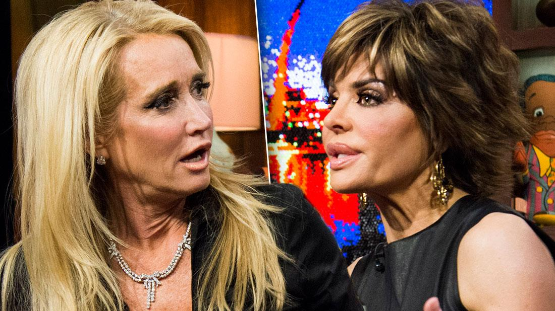 Lisa Rinna Comes Face To Face With Kim Richards For First Time Years After Explosive Feud