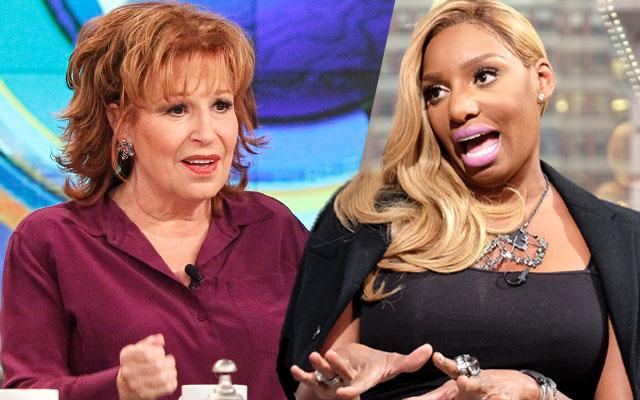 //nene leakes fights the view pp