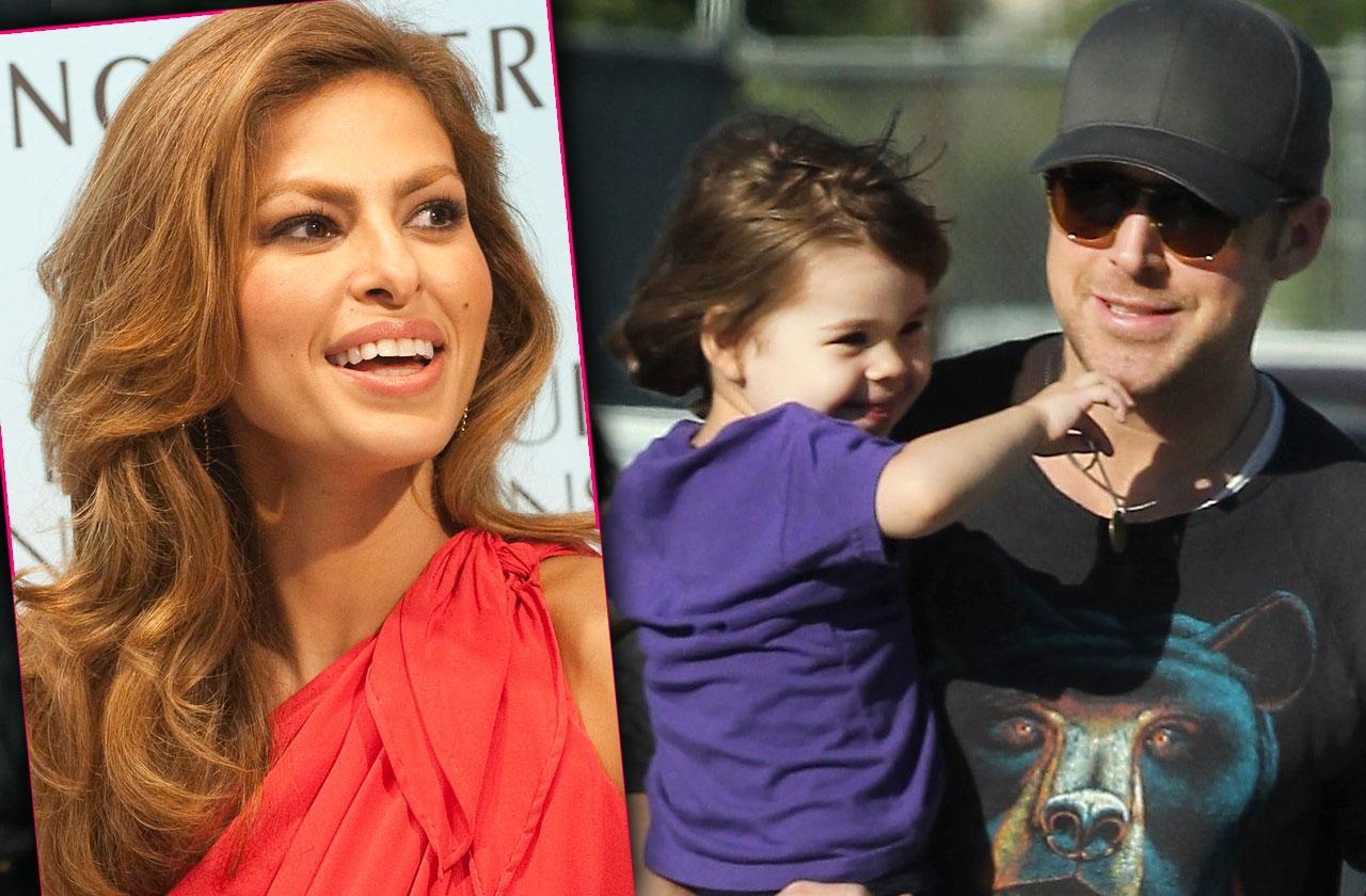 Ryan Gosling Eva Mendes Daughters Mothers Day