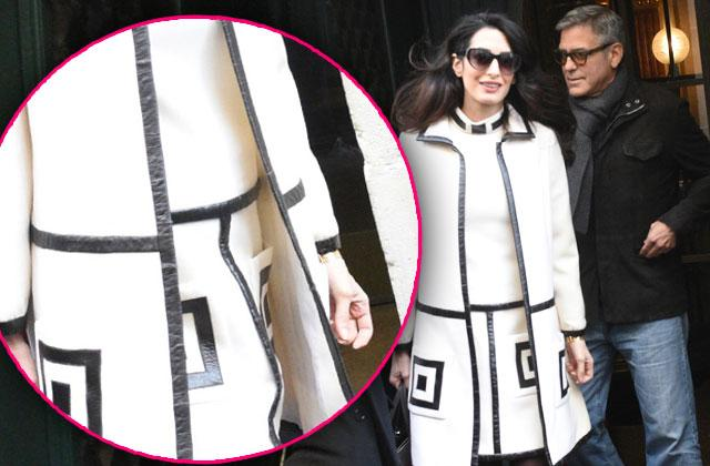 George Clooney Amal Baby Furniture Shopping Paris Photos