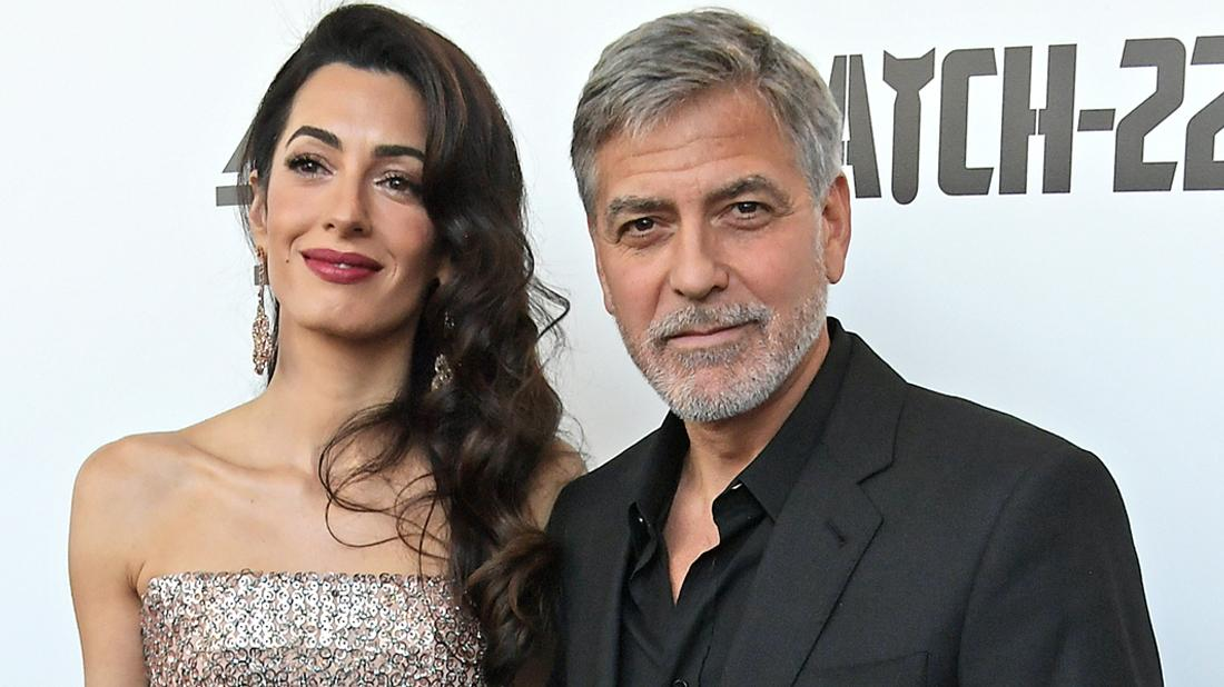 George and Amal Clooney Step Out After His Health Crisis Reveal