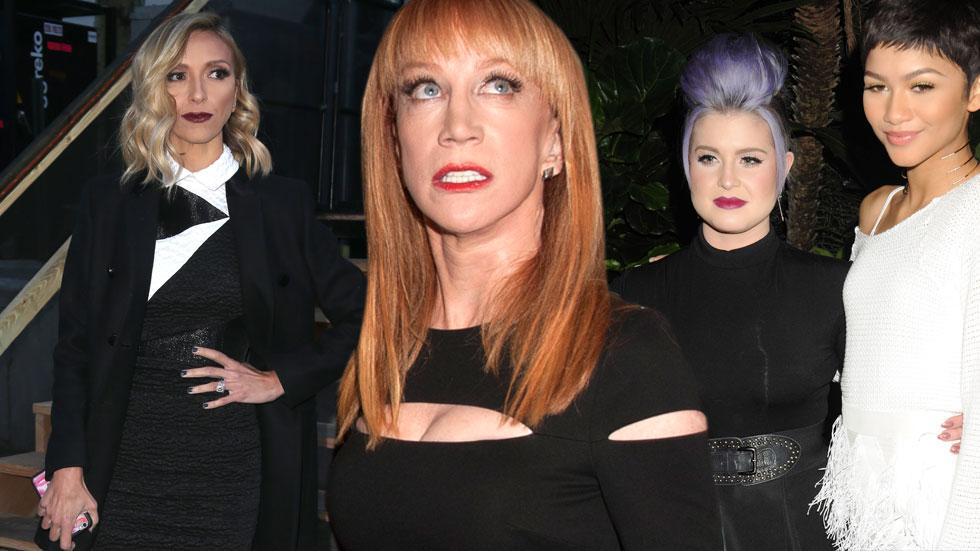 Kathy Griffin Zendaya Weed Comment