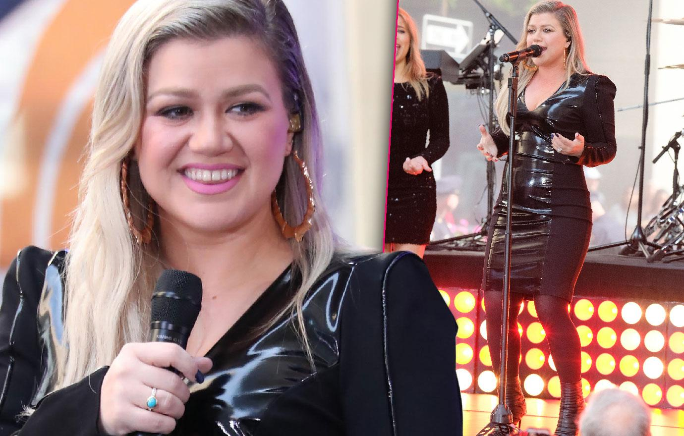 Kelly Clarkson Shows Off Weight Loss Today Show