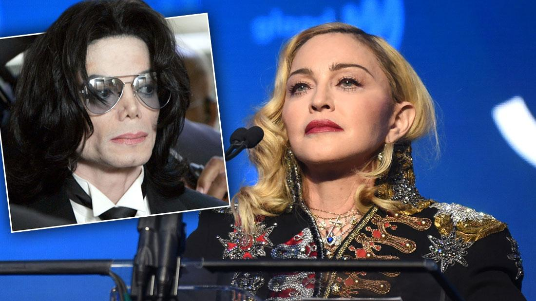 Madonna defending Michael Jackson