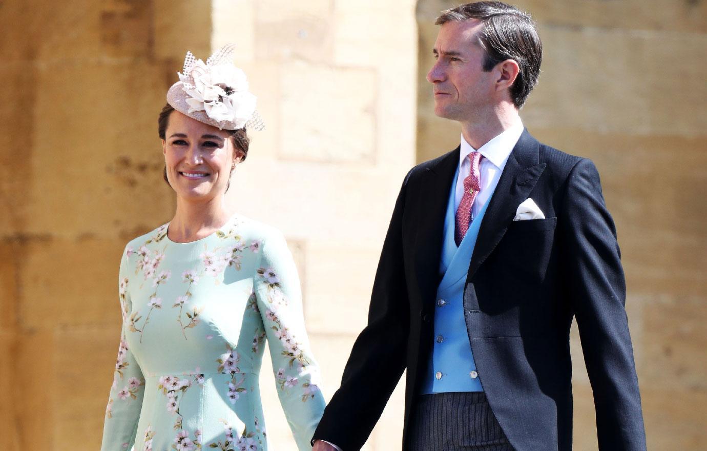 royal wedding pippa middleton pregnant baby bump photos