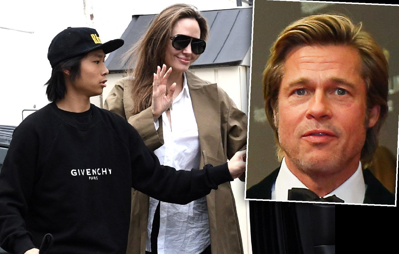 Angelina Jolie Pax Shop After Brad Returns To Jennifer Aniston's Side