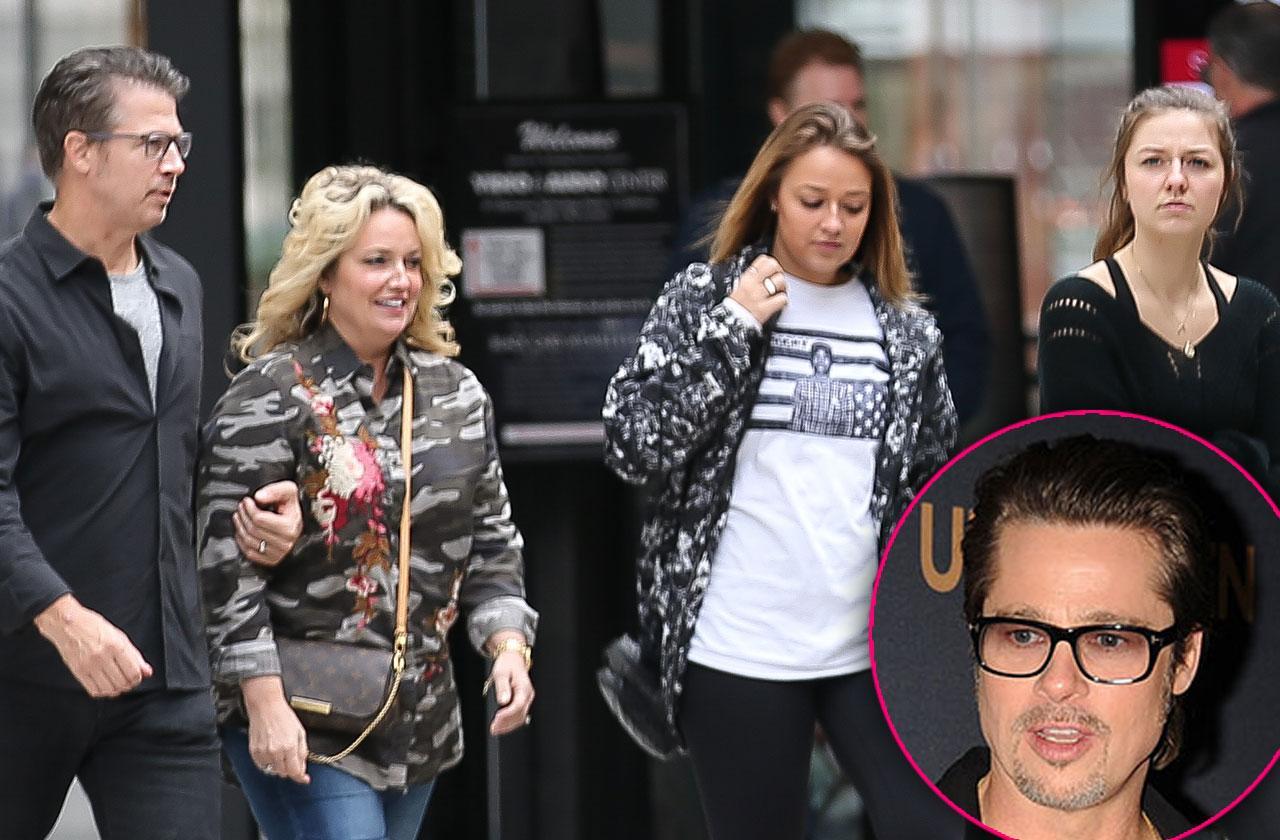 Brad Pitt Relies Brother Divorce Custody Battle Angelina Jolie