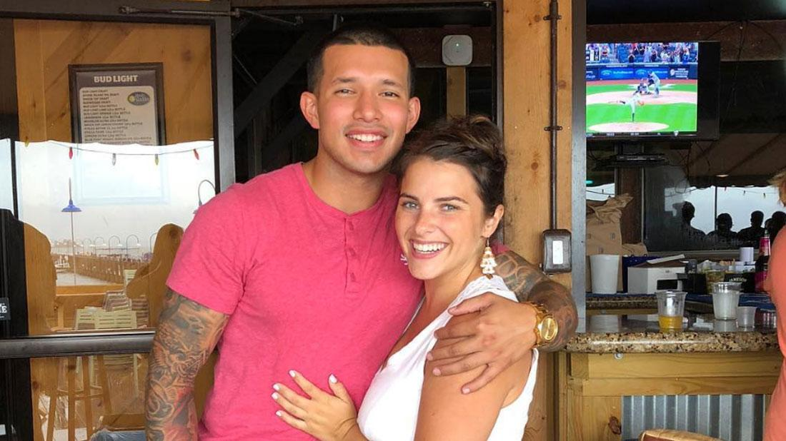 //Javi Marroquin's Home After Disturbance With Fiancée Lauren Comeau pp