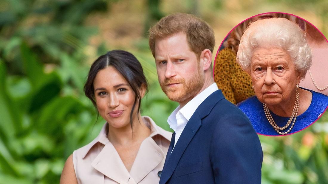 Meghan And Harry Fight With Queen Over Title