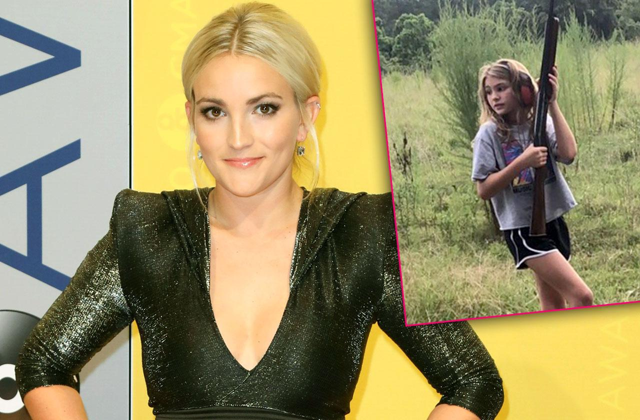 //jamie lynn spears daughter maddie holds gun after near fatal accident pp