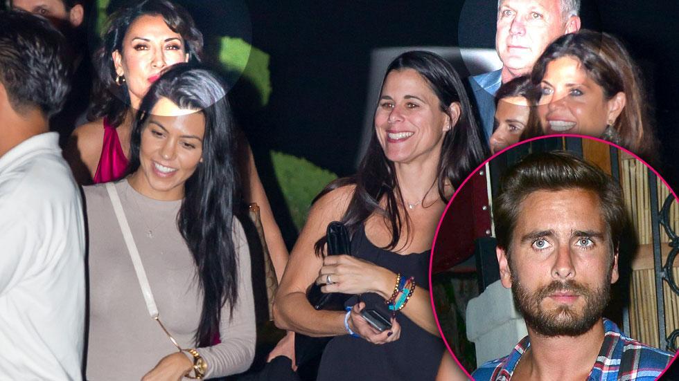 Kourtney Kardashian Caitlyn Jenner Dinner Marriage Boot Camp