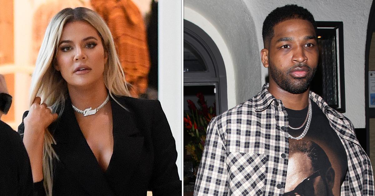 khloe kardashian breaks up tristan thompson cheating