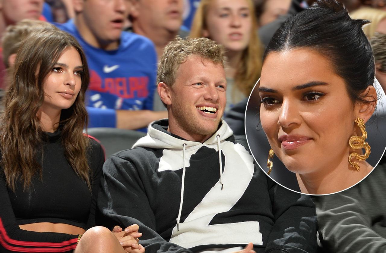 Kendall Jenner Crushing Hard On Emily Ratajkowski's husband Sebastian Bear-McClard