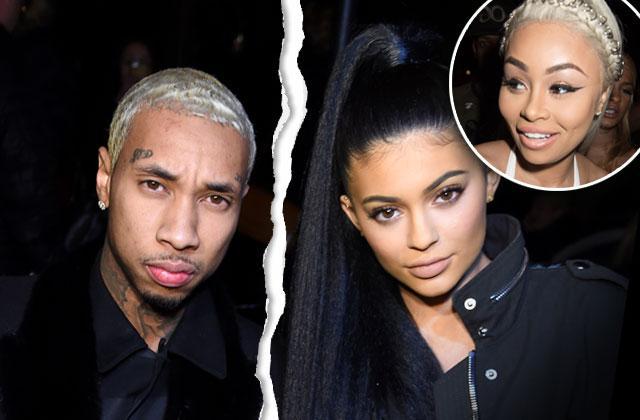 Kylie Jenner Tyga Split Breakup Blac Chyna Blame